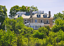 La residenza Ottawa, Canada di ambasciatore degli Stati Uniti immagini stock libere da diritti