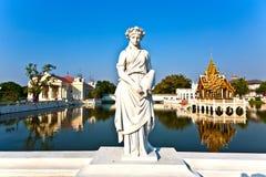 La residenza reale (Phra Thinang) e torre dell'allerta delle salvie (W noioso Fotografia Stock
