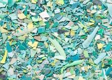 La resina plástica granula el fondo Fotografía de archivo libre de regalías