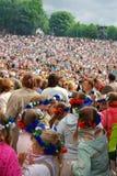 A la respiración como un 2009 en Tallinn Imagen de archivo