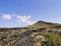 La Restinga, El Hierro. La Restinga - port town with its volcanic landscape on Hierro, Canary Islands, Spain stock photography
