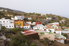La Restinga, El Hierro, Spain. View of La Restinga, a village located in El Hierro famous for some underwater volcanic eruptions and earthquakes near the coast Royalty Free Stock Image