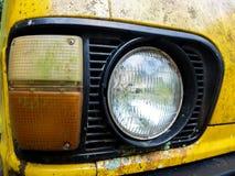 La retro automobile Fotografia Stock Libera da Diritti
