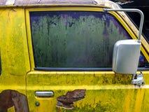 La retro automobile Fotografia Stock