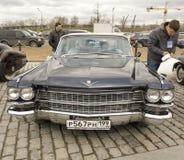 La retro Cadillac Fotografia Stock