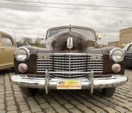 La retro Cadillac Fotografia Stock Libera da Diritti