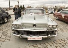 La retro Cadillac Fotografie Stock