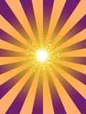 La retro struttura di lerciume dei raggi stars il fondo Immagini Stock
