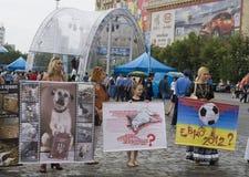 La reunión ordenada protege de animales Fotos de archivo libres de regalías