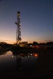 La ricerca di gas naturale Immagini Stock Libere da Diritti