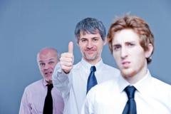 La riduzione delle dimensioni del personale significa i lavori di taglio Fotografia Stock