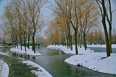 La rima di inverno del Sui e di Tang Dynasties fotografie stock
