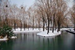 La rima di inverno del Sui e di Tang Dynasties immagine stock