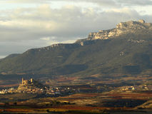 La rioja in autumn Royalty Free Stock Images