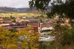 La Rioja Bodegas and Vineyards, Haro, Northern Spain Stock Photos
