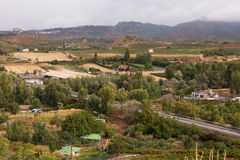 La Rioja Countryside and Vineyards, Haro, Northern Spain Stock Photos