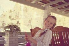 La risa del bebé es contagiosa Foto de archivo libre de regalías