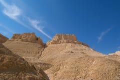La riserva naturale del deserto di Judean Fotografia Stock