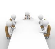 La riunione Immagini Stock