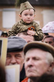 La riunione festiva di può 9, 2017, nella regione di Kaluga di Russia Immagini Stock Libere da Diritti