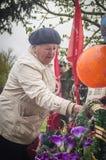La riunione festiva di può 9, 2017, nella regione di Kaluga di Russia Fotografia Stock