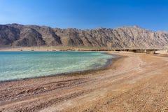 La riva di Mar Rosso immagini stock libere da diritti