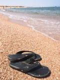 La riva di mare Fotografie Stock