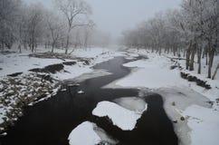 La rivière Images libres de droits