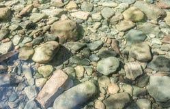 La rivière bascule Sit Below Clear Water photo libre de droits