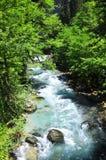 La rivière Bzyb Abkhazie Photos stock