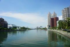 La rivière célèbre d'amour de Kaohsiung Photo libre de droits