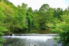 La rivière calme Photo stock