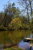 La rivière Chattahoochee images libres de droits