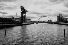 La rivière Clyde, Glasgow Photos libres de droits