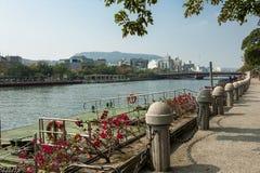 La rivière d'amour de Kaohsiung Photo libre de droits