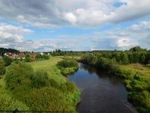 La rivière d'Oredezh Images stock