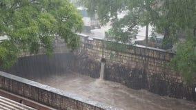 La rivière de Cañada un jour pluvieux clips vidéos