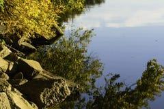 La rivière de Fox Image stock