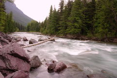 La rivière de Kootenai Images stock