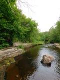 La rivière de la lave Photos libres de droits