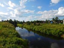 La rivière de Suyda Image stock