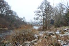 La rivière de vandale Images libres de droits