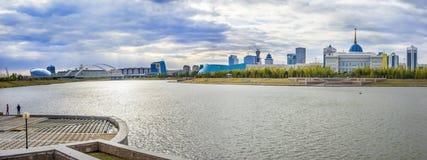 La rivière de Yesil en automne Photographie stock libre de droits