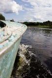 La rivière et le ciel Image libre de droits