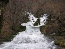 La rivière Grza en Serbie Photo libre de droits