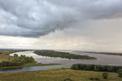 La rivière Kama Photos libres de droits