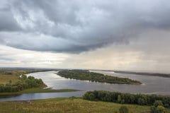 La rivière Kama Images libres de droits