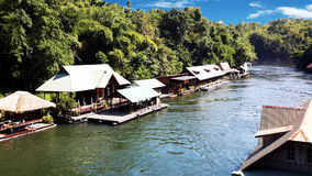 La rivière Kwai Photos libres de droits