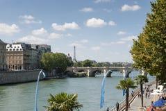 La rivière la Seine - Paris - Frances Photo libre de droits