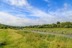 La rivière Ouse dans le Sussex photographie stock